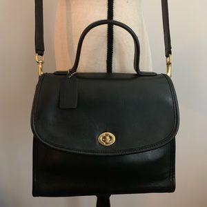 🥀Vintage Coach Manor Bag Black